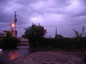 惠好晚霞:窗外的天是紫色