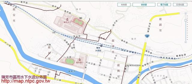 1031225瑞芳市區雨水下水道圖 - 瑞芳公共論壇-水資源