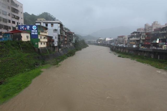 1040808基隆河河面 - 瑞芳水利/颱風/土石流