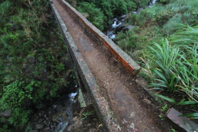 1050418內九份溪水圳橋遭清理過後樣貌4 - 金瓜石礦業圳道及圳橋