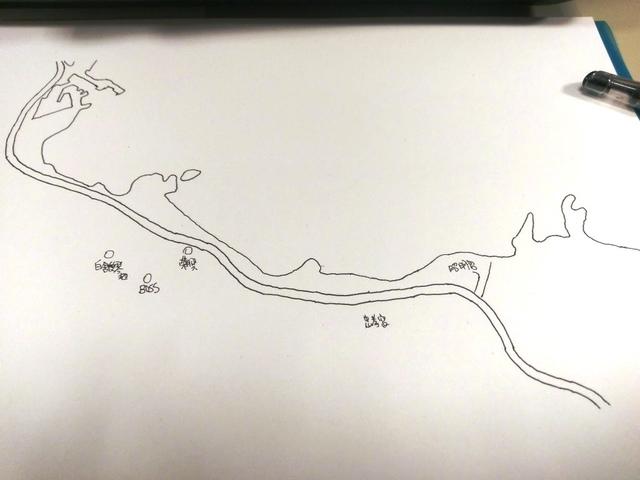 1030301炭井地圖手繪前製草稿圖 - 瑞芳地區地圖