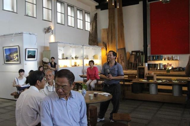 1041107蕭瀟雨攝影展開幕茶會紀錄1 - 瑞芳社區活動.藝文活動