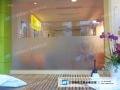 帆布&大圖輸出:恩迪美語-玻璃貼紙