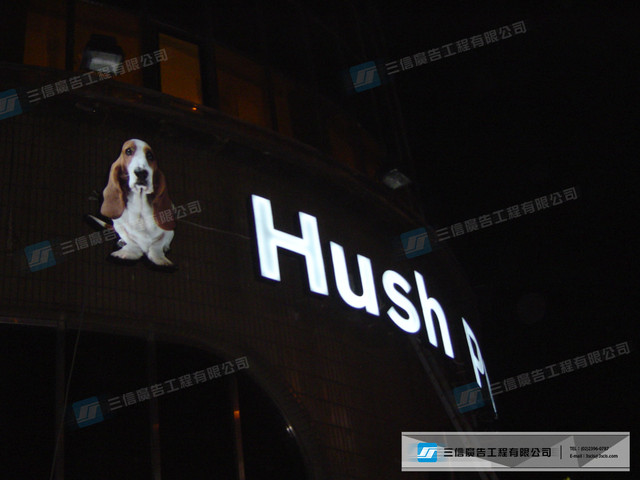 LED&霓虹燈:Hush Puppies