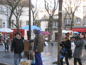 603巴黎蒙馬特畫家村 -小丘廣場:00030巴黎蒙馬特畫家村小丘廣古典吉他施夢濤.JPG