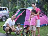060923-皇后鎮露營:我們的帳蓬與史奴比一家