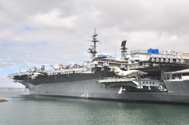世界的博物館  軍事類:USS CV-41 Midway 航空母艦