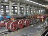 民國101年7月 台北機廠CT273 整修好的動輪零件組立中
