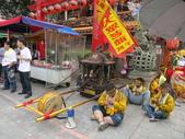 20120618新莊大拜拜:新莊區夜巡喊班@大眾廟:虎爺神轎