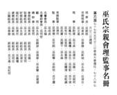 台北市巫氏宗親會組織圖照:docu0106.jpg