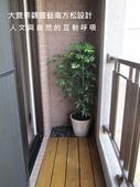大廈陽台篇4 / 南方松地板 / 陽台綠化園藝:<南方松地板.陽台綠化>