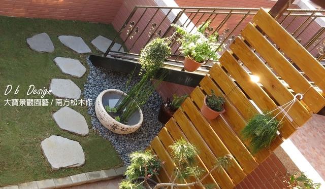 IMG_5471 (3).jpg - [ 透天頂樓篇4 ]-頂樓鋪設草皮.南方松格柵.洗手台