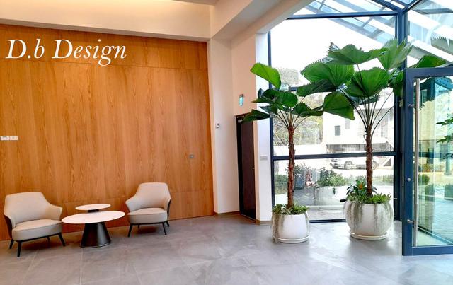 室內植物綠化 / 辦公大樓>大廳入口處 - 室內植物綠化>辦公大樓