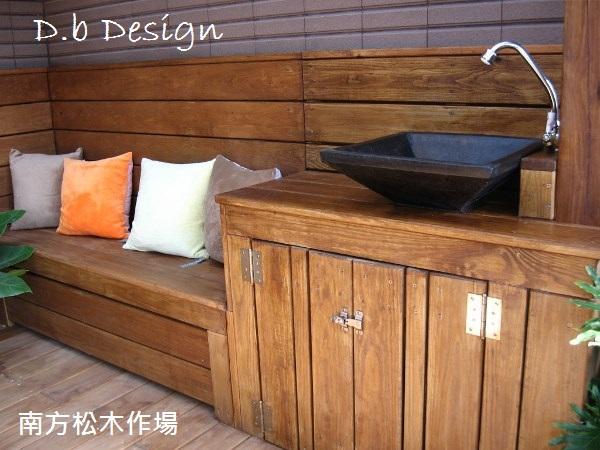 南方松傢具 -多功能洗手台 - 南方松作品大串聯