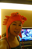2008-10-31 萬聖變裝趴:美樂阿姐的螃蟹頭