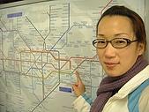 英國遊記本:地鐵map
