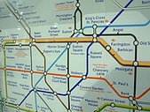 英國遊記本:TubeMap