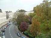 英國遊記本:宿舍望出去RegentsPark1