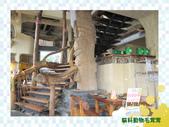 新北市.八里區.芭達桑原住民主題餐廳:[mouji] 芭達桑內部-樓梯.jpg