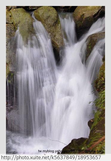 新竹縣.尖石鄉.鴛鴦谷瀑布群:[k5637849] 鴛鴦谷瀑布群