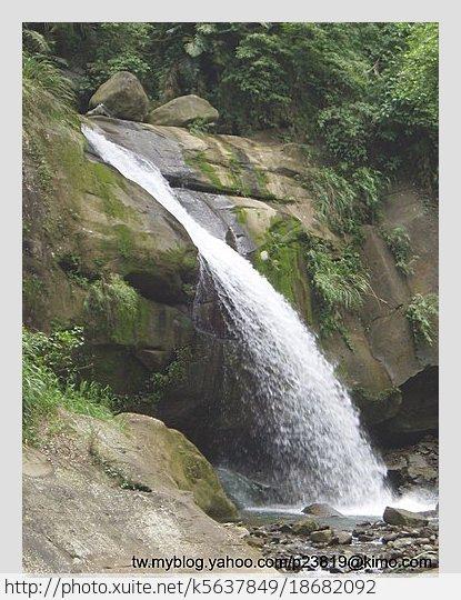 南投縣.鹿谷鄉.水哮瀑布:[k5637849] 水哮瀑布