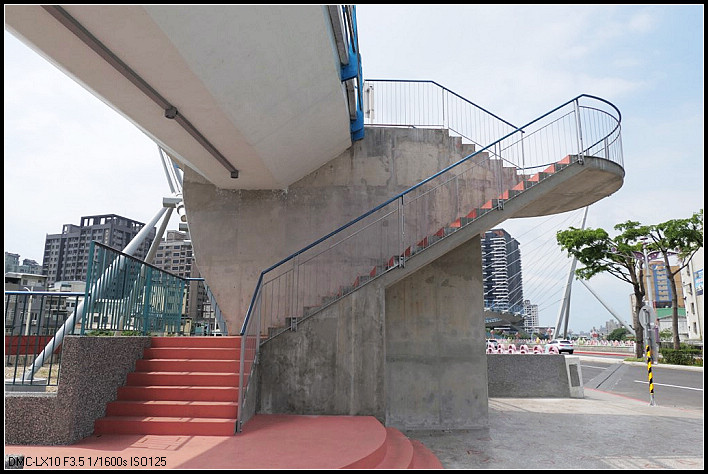 桃園市.桃園區.南崁溪印象大橋:[hcc0110] 南崁溪印象大橋