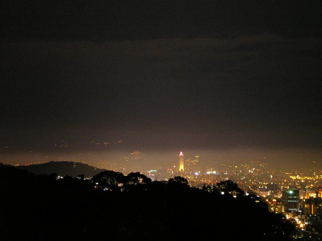 台北市.士林區.阿水的家:[asuijka] 從阿水的家/鬼店觀賞台北夜景