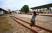 嘉義市.西區.嘉義鐵道藝術村:[mr.coffee] 99%的人,看到鐵軌都喜歡走一段平衡木