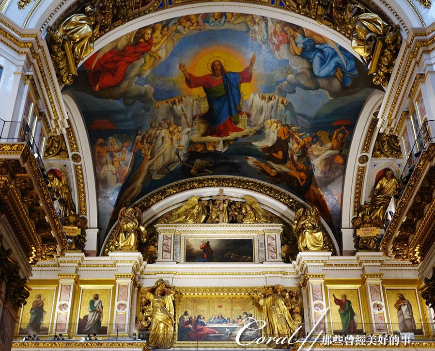 俄羅斯全區.聖以薩大教堂:[coral4401] 聖以薩大教堂