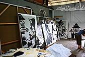 嘉義市.西區.嘉義鐵道藝術村:[mr.coffee] 倉庫內就是這樣,果然有藝術家的風範